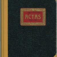 Libro de acuerdos municipales del Pueblo de Nueros  (1937-1942)
