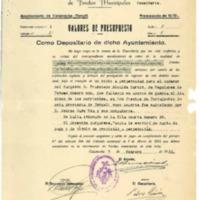 Relación de compras de nicho en cementerio municipal ( 1937-1943)