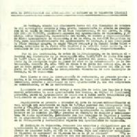Acta de incorporación de ayuntamiento de Lechago al de Calamocha, 18/10/1971