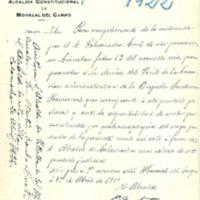 Brigada sanitaria provincial . Reglamento (1922)