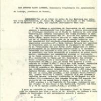 Acta de las sesiones celebradas por el Ayuntamiento de Lechago, 21 de septiembre 1969