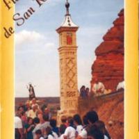 Programa de fiestas de Cutanda del año 2003.