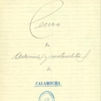 Censo de automóviles y motocicletas (1926)