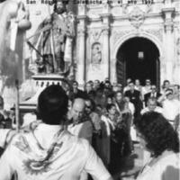 RESUMEN de los dichos pronunciados en la procesión del baile de San Roque en Calamocha en el año 1997