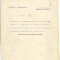 Multa gubernativa contra un vecino por  infracción  contra el bando de extracción de leñas (1938)