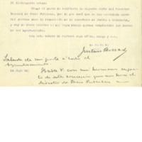 Concesión de subvención para arreglo de la carretera(1922)