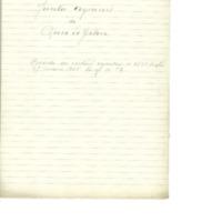 Nombramiento de representantes para la Junta de agravios (1938)