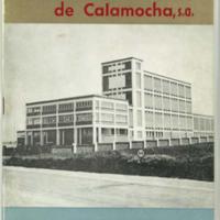 Matadero Industrial de Calamocha, S.A. 28 de septiembre de 1969.
