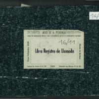 Libro registro de llamadas a filas (1934-1957)