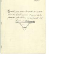 Reparto para cubrir los gastos  de instalación de teléfono para el servicio  de las fuerzas  que luchan en el frente del sector de Calamocha (1937)
