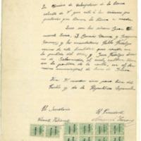 Citaciones  a los propietarios de tierras por parte de la agrupación de campesinos de la tierra.(1932)