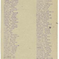 Relación de alojamientos  y de vehículos para los jefes y oficiales (1936-1939)