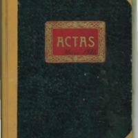 Libro de actas  del Ayuntamiento de Villarejo (1937-1941)
