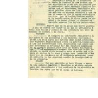 Circular del delegado gubernamental sobre  educación , formación y sanidad. (1926)