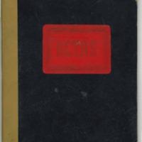 Libro de actas  de la junta de educación (1958)