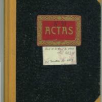 Libro de actas de Lechago (1937-1939)