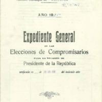 Elecciones de  compromisarios para votar al presidente de la república (1936)