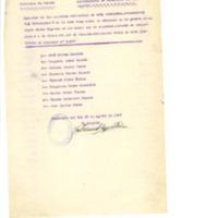 Relación de  raciones que han sido dadas   al cuerpo de ametralladoras (1937)