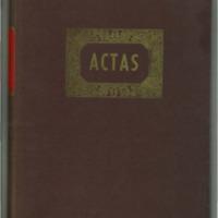Libro actas de las sesiones celebradas por el Ayuntamiento de Lechago en los años 1966