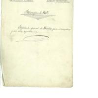 Quintas. Expediente  general de operaciones de reemplazo y reclutamiento del ejército. (1902)