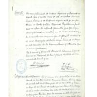 Cese del cartero rural de  Navarrete  (1936)