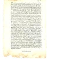 Hoja volante publicada el día 26 de agosto de 1841 sobre las medidas tomadas por la Regencia sobre  la libertad de prensa.