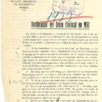 Rectificación del censo electoral (1933)