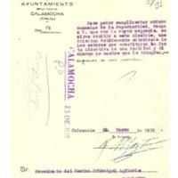 Asociaciones existentes y relación   de miembros (1936)