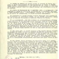 Acta de las sesiones celebradas por el Ayuntamiento de Lechago, 30 de junio 1969