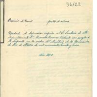 Solicitud de información de la conducta del secretario del Ayuntamiento de Nueros antes y después del Glorioso Movimiento Nacional. (1939)