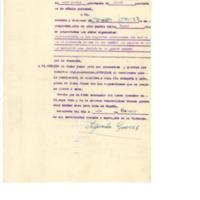 Solicitud de  vecinos para reparación de desperfectos causados por una bomba (1938)