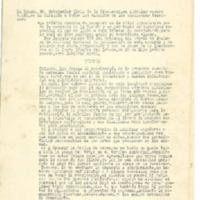 Circular nº 35 . Pasos a seguir para llevar a cabo la recolección  de cosechas (1937)