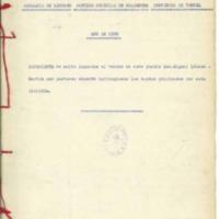 Expediente que contiene multa  gubernativa impuesta a un vecino por pastoreo  abusivo (1936)