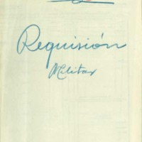 Censo de ganados y carruajes   y otros elementos sujetos a requisas militares (1926-1952)
