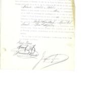 Acta de constitución de la junta inspectora  de la junta de defensa nacional