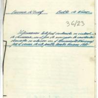 Solicitud de informe sobre la conducta de algunos  vecinos del pueblo  de Nueros (1939)
