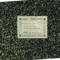 Libro de cotizaciones de la Sociedad de trabajadores de la tierra.(1933)
