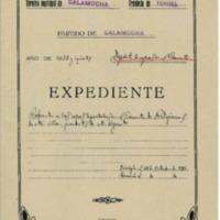 Inventario   de las ropas que deposita el Ayuntamiento de Calamocha  en el convento  de las concepcionistas