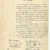 Notificaciones y peticiones de reparto de tierra(1931)