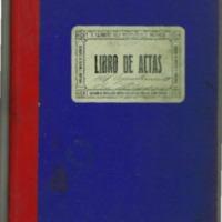 Libro de acuerdos  municipales del pueblo de Nueros (1931-1936)
