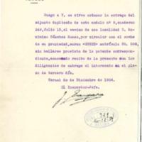 Correspondencia recibida en el ayuntamiento de Lechago.1934