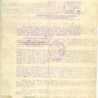 Documento que contienen información sobre las ayudas que   van a dar  a los agricultores (1937)