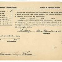 Correspondencia del pueblo de Lechago.1933
