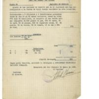 Relación de raciones dadas  a la fuerza de infantería residente en Navarrete (1938)