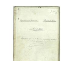 Quintas: Expediente de operaciones de reemplazo y reclutamiento del ejército. (1905)