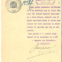 Documentación  sobre el volumen y comercio del azafrán  existente en Calamocha (1937-1939)
