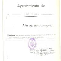 Documentación  de la sociedad de trabajadores de la tierra (1933)