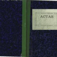 Libro de actas de Luco (1932)