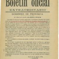 Boletín oficial sobre elecciones (1933)