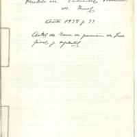 Acta de la toma de posesión de juez y fiscal (1938-1939)